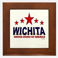 Wichita U.S.A. Framed Tile