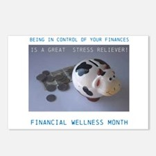 Financial Wellness Month Postcards (Package of 8)