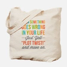 Plot Twist Tote Bag
