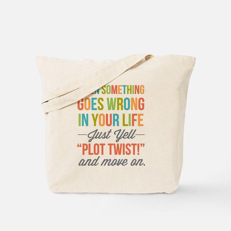 Plot Twist Tote Bag