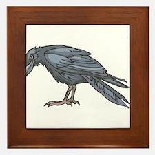 crow Framed Tile