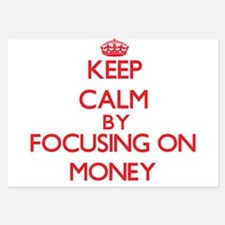 Keep Calm by focusing on Money Invitations