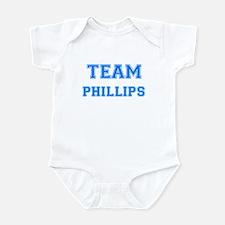 TEAM PHILLIPS Infant Bodysuit