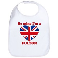 Fulton, Valentine's Day Bib