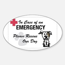 Cute Pit bull rescue central Decal