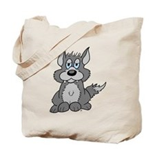 Baby Wolf Pup Tote Bag