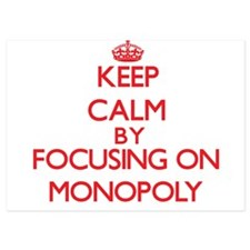 Keep Calm by focusing on Monopoly Invitations