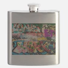 Graffiti Fun Series Flask