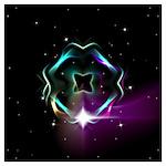 Mystic Prisms - Clover - Wall Art
