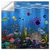 Diver Wall Decals