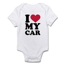 I love my car Infant Bodysuit