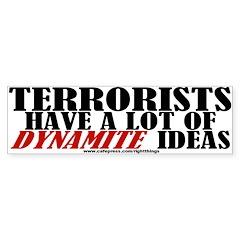 Dynamite Ideas Bumper Bumper Sticker