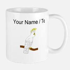 Custom White Cockatoo Mugs