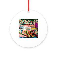 Graffiti Fun Series Ornament (Round)