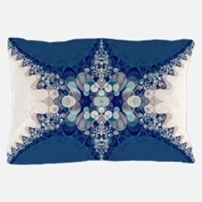 Blue Bahai Pillow Case