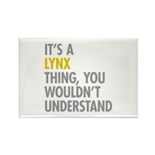 Its A Lynx Thing Rectangle Magnet (10 pack)