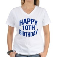 Happy 10th Birthday Shirt