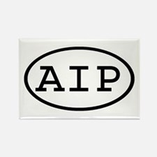 AIP Oval Rectangle Magnet