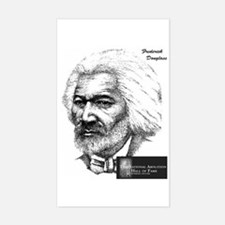 Frederick Douglass Rectangle Decal