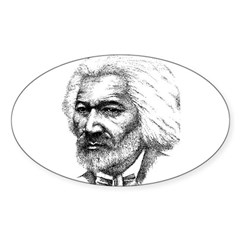 Frederick Douglass Oval Decal