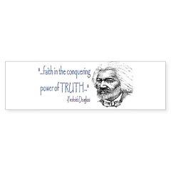 Frederick Douglass Bumper Bumper Sticker