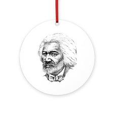 Frederick Douglass Ornament (Round)