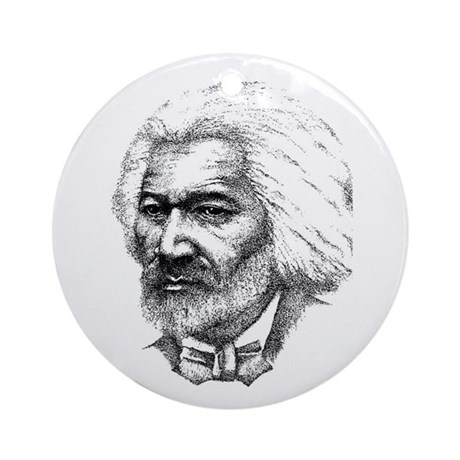 Frederick Douglass Ornament (Round)