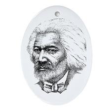 Frederick Douglass Oval Ornament