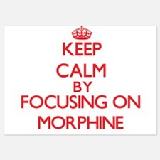 Keep Calm by focusing on Morphine Invitations