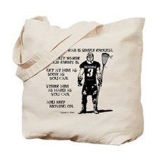 Lacrosse USG Quote 2 Tote Bag