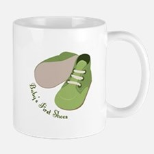 First Shoes Mugs