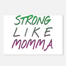 Strong like momma Postcards (Package of 8)
