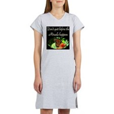 GOD'S MIRACLES Women's Nightshirt