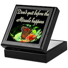 GOD'S MIRACLES Keepsake Box