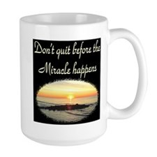 BLESSED BY MIRACLES Mug