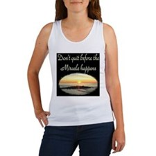 BLESSED BY MIRACLES Women's Tank Top