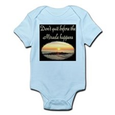 BLESSED BY MIRACLES Infant Bodysuit