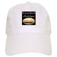 BLESSED BY MIRACLES Baseball Cap
