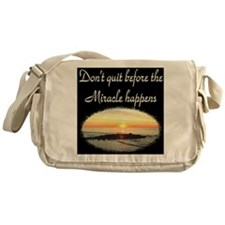 BLESSED BY MIRACLES Messenger Bag