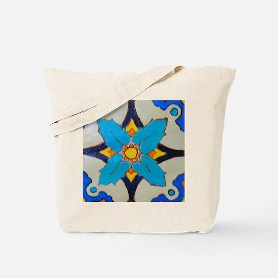 Alcazar Tile Tote Bag