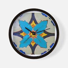 Alcazar Tile Wall Clock