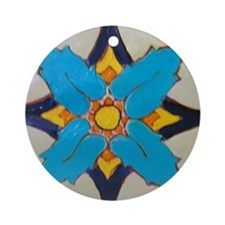 Alcazar Tile Ornament (Round)