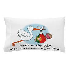 stork baby port 2.psd Pillow Case