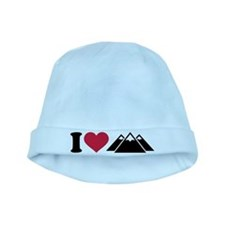 I love mountains baby hat
