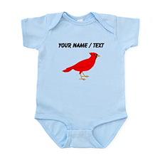 Custom Red Cardinal Body Suit