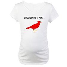 Custom Red Cardinal Shirt