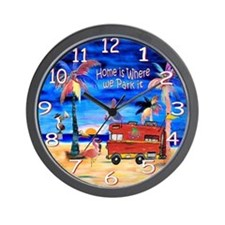 Cool Islander Wall Clock