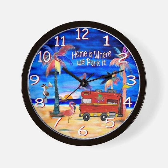 Cute Rv Wall Clock