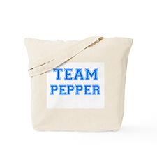 TEAM PEPPER Tote Bag