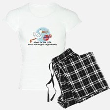 stork baby nor 2.psd Pajamas